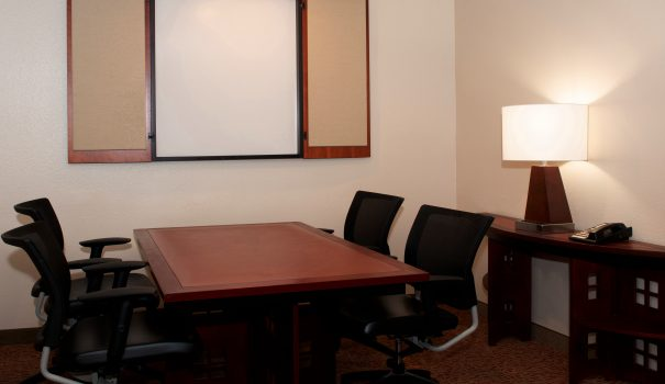 Space to work in a Larkspur Landing boardroom suite